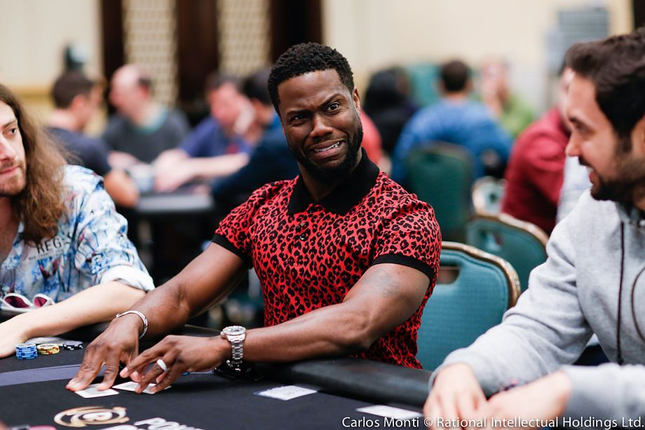 Кевин Харт давно играет в покер