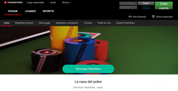 Покерстарс - Испания